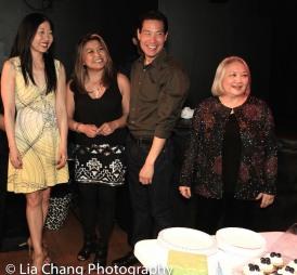Lainie Sakakura, Hazel Anne Raymundo, Darren Lee and Virginia Wing. Photo by Lia Chang