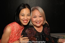 Lia Chang and Virginia Wing. Photo by Garth Kravits