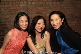 Lia Chang, Lainie Sakakura and Jodi Long. Photo by Garth Kravits