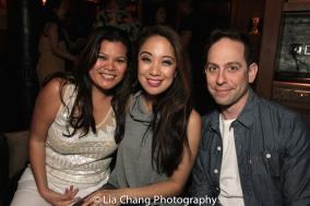 Liz Casasola, Jaygee Macapugay and Garth Kravits. Photo by Lia Chang