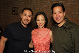 Marcus Choi, Lia Chang, Darren Lee. Photo by Garth Kravits