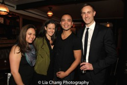 Patricia Llana, Kimberly Grigsby, Jose Llana and Eric Rose. Photo by Lia Chang