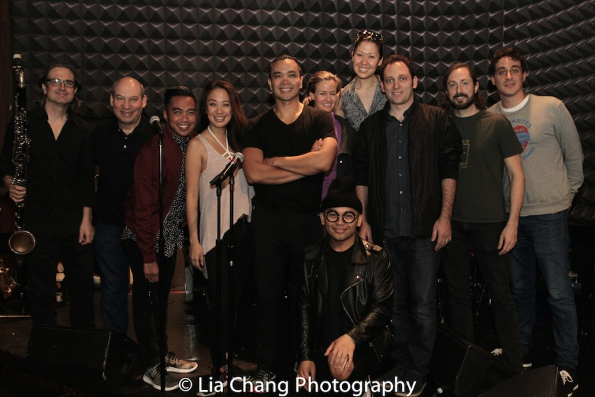 Pete Donovan, Jack Bashkow, Enrico Rodriguez, Jaygee Macapugay, Jose Llana, Kimberly Grigsby, Jeigh Madjus, Ruthie Ann Miles, Matt Stine, Kevin Garcia, Simon Kafka. Photo by Lia Chang