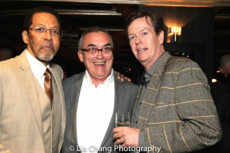 Peter Jay Fernandez, John Bowman and Dylan Baker. Photo by Lia Chang