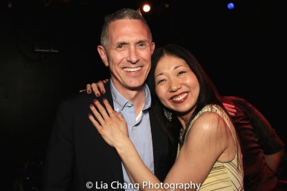 Robert Longbottom and Lainie Sakakura. Photo by Lia Chang