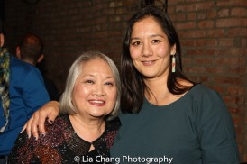 Virginia Wing and her daughter. Photo by Lia Chang