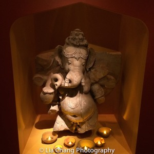 Dancing Ganesha, Central India, probably Madhya Pradesh, Chandela dynasty, 11th century Sandstone. Photo by Lia Chang