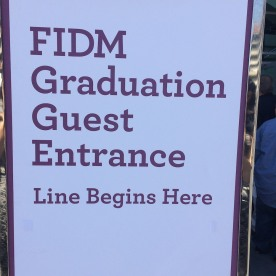 2016 FIDM Graduation at the Staples Center on June 20, 2016. Photo by Lia Chang