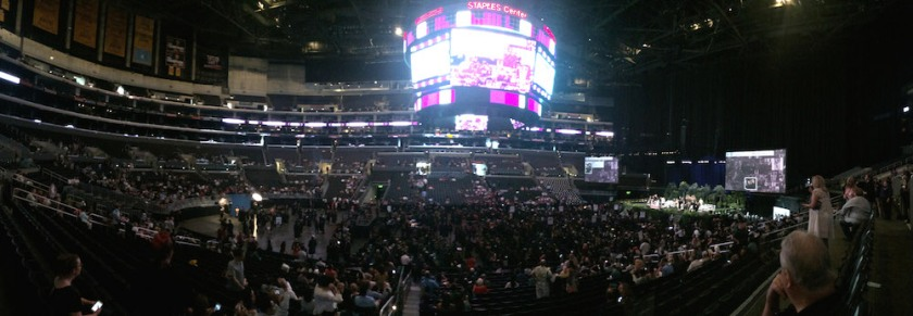2016 FIDM Graduation at the Staples Center. Photo by Lia Chang