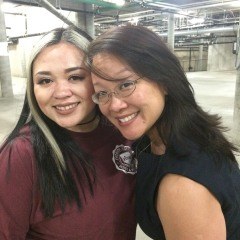Asia Flores and Tami Chang. Photo by Lia Chang