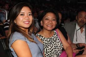 Leah Baptista and Pauline Chang. Photo by Lia Chang