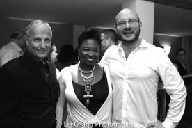 Jim Corti, Donica Lynn and Doug Peck. Photo by Lia Chang