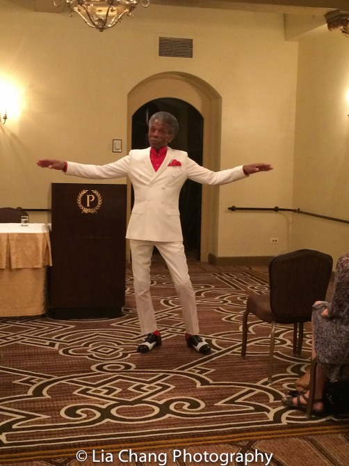 André De Shields during a Q & A at BTN's 30th Anniversary conference at the Palmer House Hilton in Chicago on August 9, 2016. Photo by Lia Chang