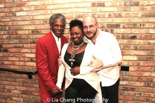 André De Shields, Donica Lynn and Doug Peck. Photo by Lia Chang