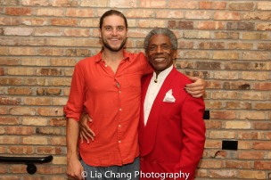 Brandon Moorhead and André De Shields. Photo by Lia Chang