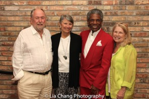 Dennis Začek, Carol Eastin, André De Shields and Marcelle McVay. Photo by Lia Chang