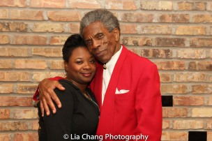 Donica Lynn and André De Shields. Photo by Lia Chang