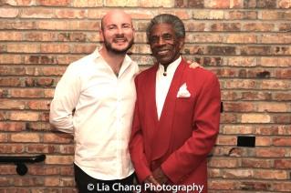 Doug Peck and André De Shields. Photo by Lia Chang