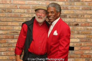 Eric Nathan and André De Shields. Photo by Lia Chang