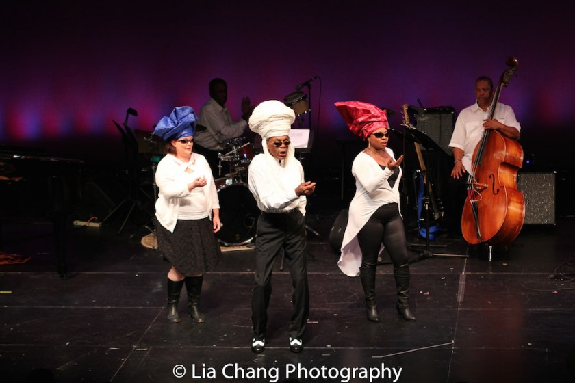 Kimberly Lawson, Robert Reddrick, André De Shields, Donica Lynn and Anthony J. Mhoon. Photo by Lia Chang
