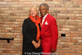 Libby York and André De Shields. Photo by Lia Chang