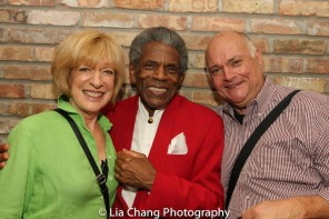 Linda Kimbrough, André De Shields and Matt De Caro. Photo by Lia Chang