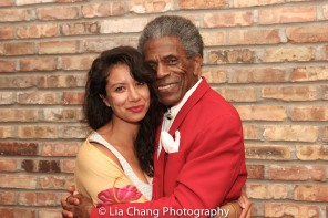 Monica Lopez Orozco and André De Shields. Photo by Lia Chang