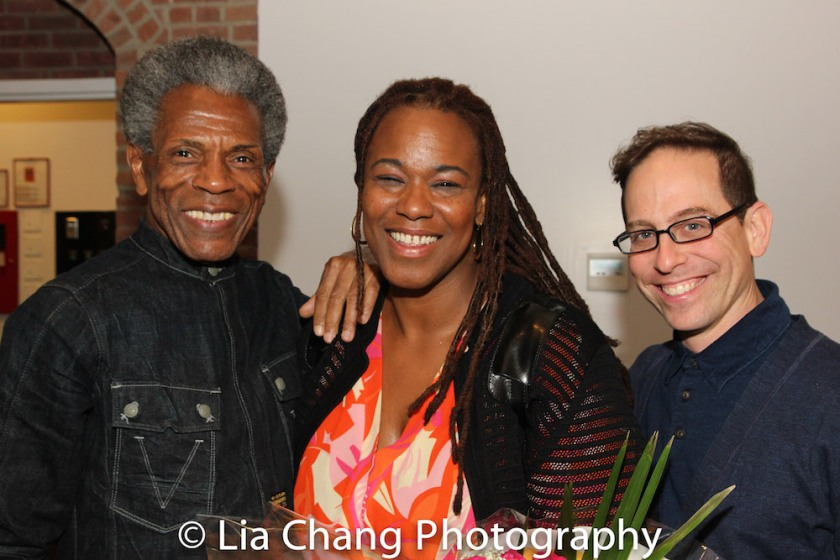 André De Shields, Kecia Lewis and Garth Kravits. Photo by Lia Chang