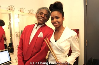André De Shields and Taylor Moore. Photo by Lia Chang