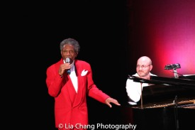 André De Shields and Doug Peck. Photo by Lia Chang