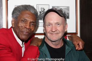 André De Shields and Patrick Kerwin. Photo by Lia Chang