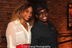 Ashley Roberson and Samuel G. Roberson Jr. Photo by Lia Chang