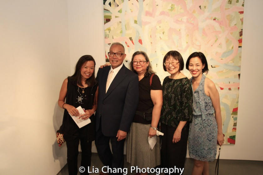 Arlan Huang, Marilynn K. Yee, Lillian Ling and Lia Chang. Photo by Lia Chang