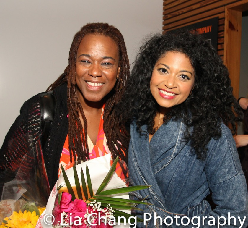 MARIE AND ROSETTA stars Kecia Lewis and Rebecca Naomi Jones. Photo by Lia Chang