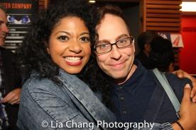 Rebecca Naomi Jones and Garth Kravits. Photo by Lia Chang
