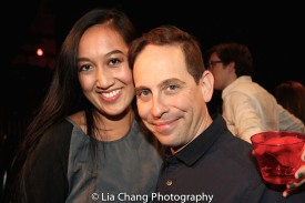 Adrienne Tang and Garth Kravits. Photo by Lia Chang
