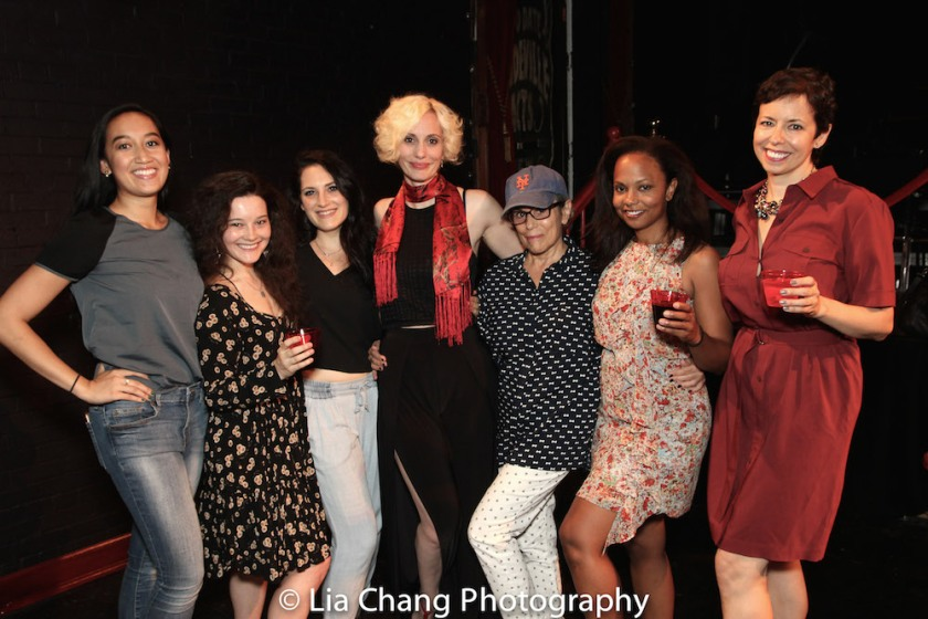 Adrienne Tang, Sarah Smithton, Jodi Bluestein, Jamey Hood, Joan Barber, Lauren Hooper, Joanna Parson. Photo by Lia Chang