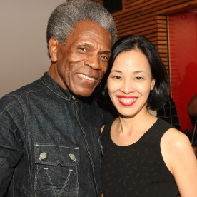 André De Shields and Lia Chang. Photo by Garth Kravits
