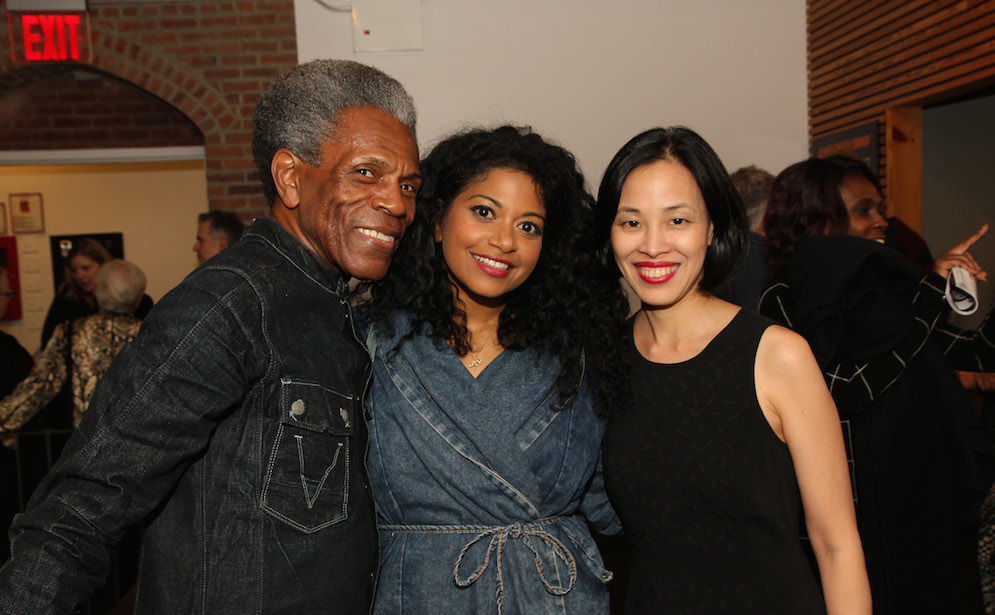 André De Shields, Rebecca Naomi Jones and Lia Chang. Photo by Garth Kravits