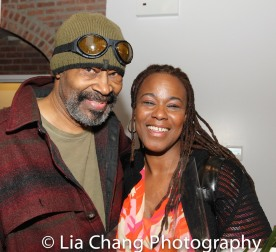Anthony Chisholm and Kecia Lewis. Photo by Lia Chang