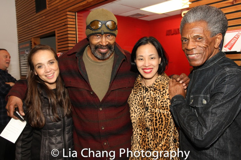 Carla Brothers, Anthony Chisholm, Lia Chang and André De Shields. Photo by Garth Kravits