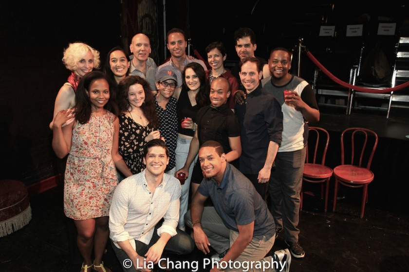 The cast of THE WILD PARTY. Photo by Lia Chang