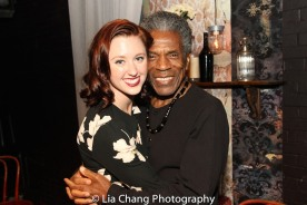 Emily Tucker and André De Shields. Photo by Lia Chang