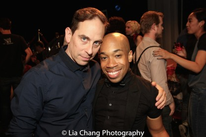 Garth Kravits and Kyle Garvin. Photo by Lia Chang