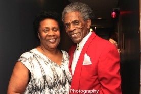 Black Ensemble Theater Founder and CEO Jackie Taylor and André De Shields. Photo by Lia Chang