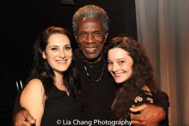 Jodi Bluestein, André De Shields and Sarah Smithton. Photo by Lia Chang