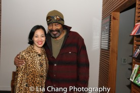 Lia Chang and Anthony Chisholm. Photo by Garth Kravits