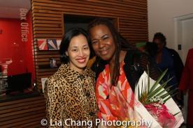 Lia Chang and Kecia Lewis. Photo by Garth Kravits