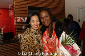 Lia Chang and Kecia Lewis. Photo by Garth Kravits