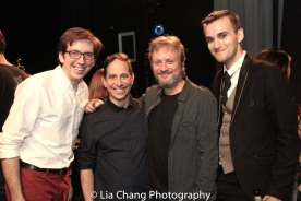 Tyler M. Perry, Garth Kravits, Gary Smoot and DW. Photo by Lia Chang